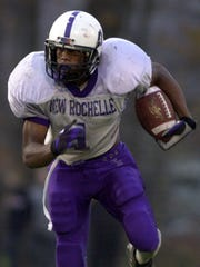 Courtney Greene played at New Rochelle from 2000-'03 and spent three years in the NFL.