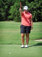 Olney senior Mattie Barrington finished third in the Class 2A Girls Golf State Tournament on Tuesday.