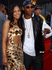 Ashanti and Ja Rule, pictured in 2002