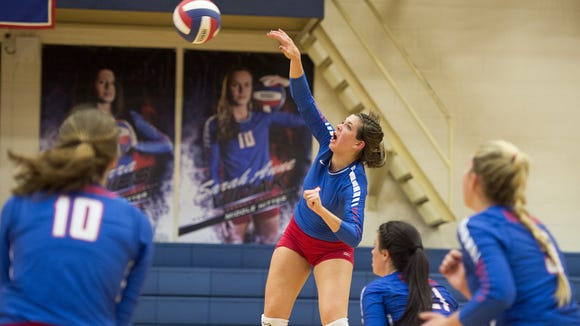 West Henderson senior Mary Catherine Ball has signed to play college volleyball for Belmont.