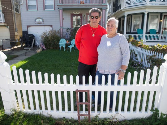 Ralph and Patricia Florio had a statue of the Virgin Mary displayed in front of their home for years. It recently disappeared with no explanation.    Ocean Grove, NJThursday, November 2, 2017@dhoodhood
