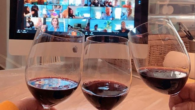 Billy Mellon, of manna in downtown Wilmington, has hosted a series of online wine tastings with well-known people in the food industry, including Hunter Lewis, editor of Food & Wine magazine.