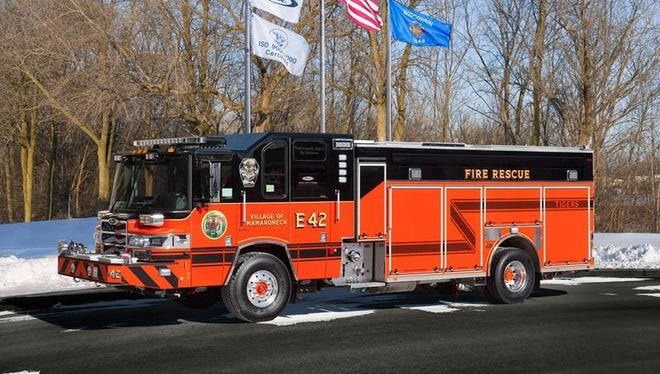 The Village of Mamaroneck is expected to receive its new firetruck in the spring.