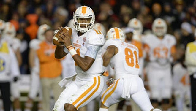 Tennessee quarterback Josh Dobbs and the Vols' offense didn't have the luxury of time on its final drive against Florida.