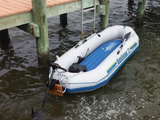 Found boat
