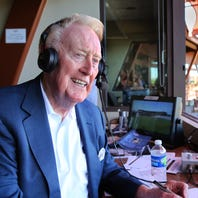 Vin Scully embarks on final season, ready to 'squeeze the juice out of life'