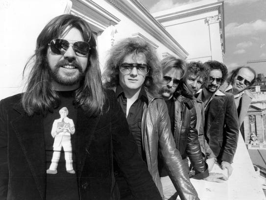 Bob Seger & the Silver Bullet Band in 1977