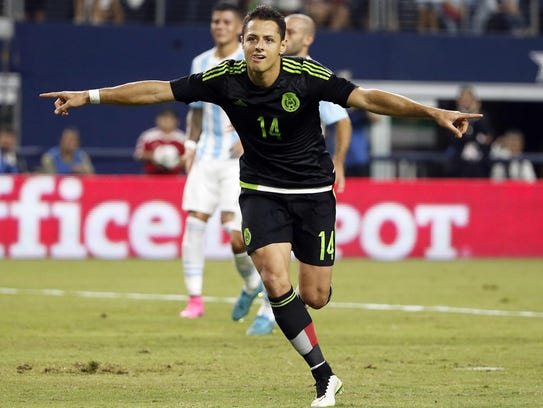 """México jugará casi como local, y con Javier """"Chicharito"""""""