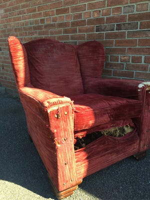 The Ugly Chair winner.