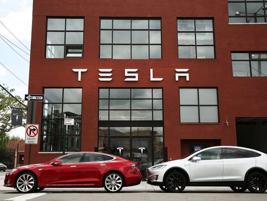 Tesla is making around 50,000 cars a year with its