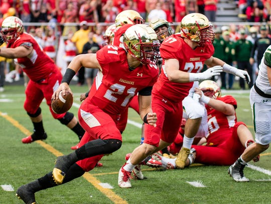 Johnny Langan and Bergen Catholic have won four in a row heading into Friday night's showdown with Don Bosco.