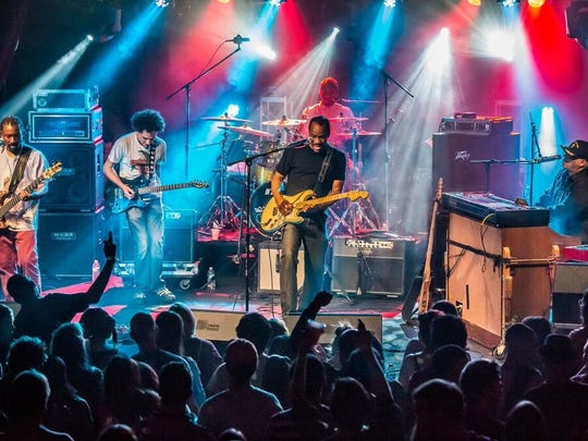 Ivan Neville's Dumpstaphunk will return to Tubman-Garrett Riverfront Park for Bromberg's Big Noise this spring, two years after performing there for the annual People's Festival.