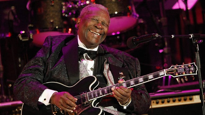 B.B. King performs at the opening night of the 87th season of the Hollywood Bowl in Los Angeles on June 20, 2008.