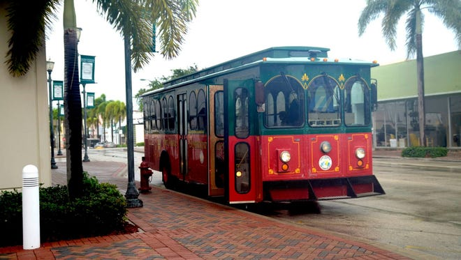 The City of Fort Pierce will offer free trolley rides Friday through Monday.