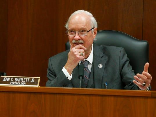 Ocean County Freeholder John C. Bartlett Jr.
