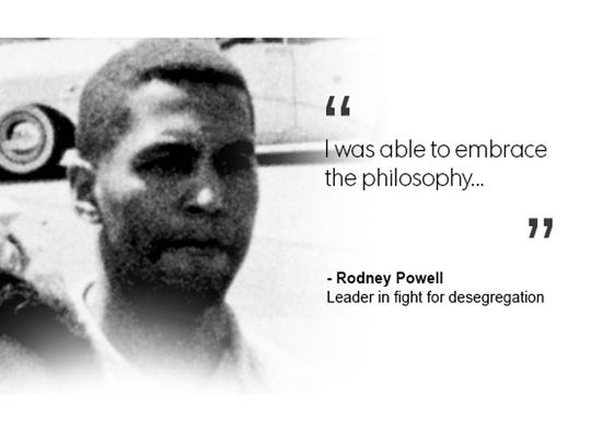 Rodney Powell, leader in fight for desegregation