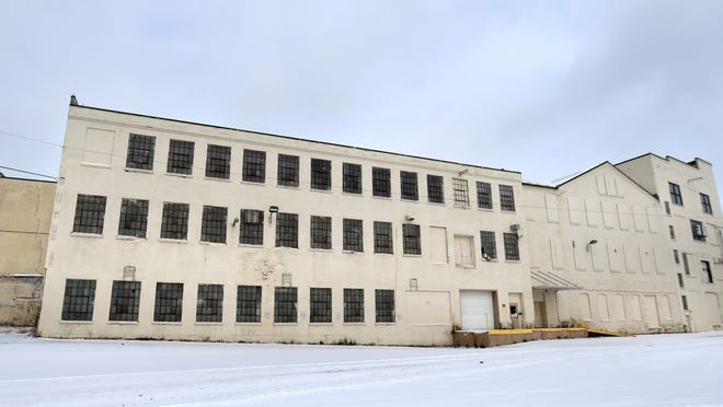 Developers want to convert a vacant industrial building at 218 E. South Island St. in Appleton into a housing complex.