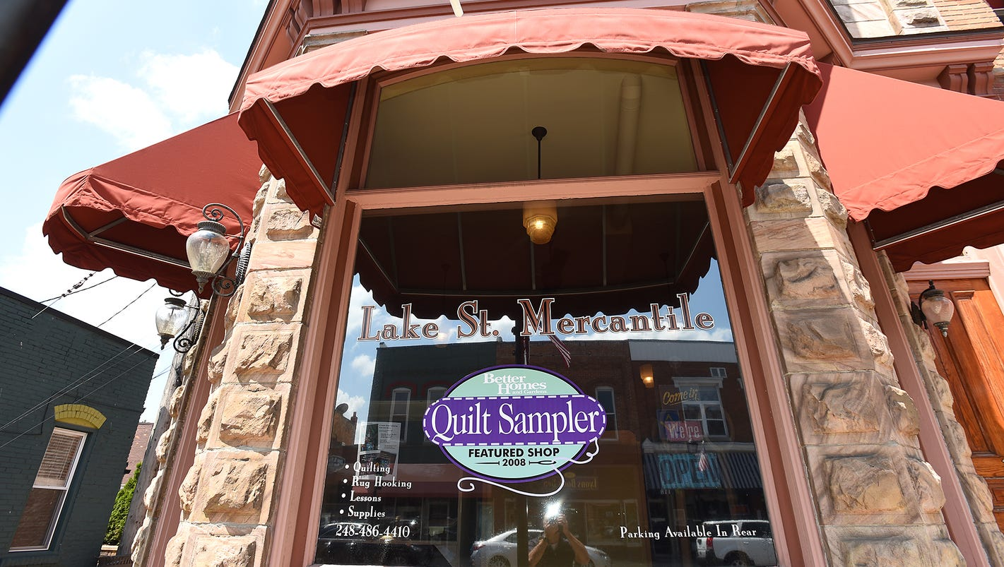 Lake Street Mercantile shutting down as owners look to retirement : quilt shop south lyon mi - Adamdwight.com
