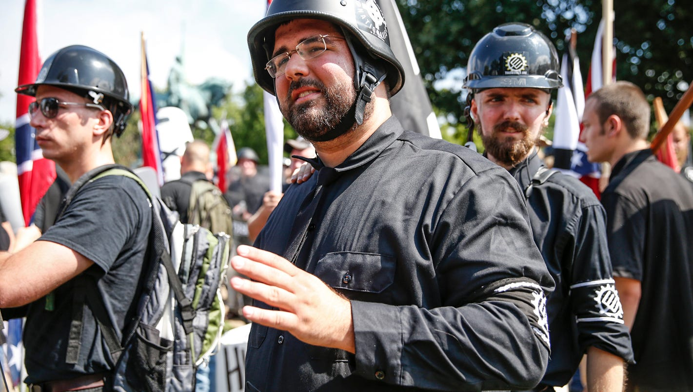 Meet the man in the middle of the 'Unite the Right' rally in Charlottesville