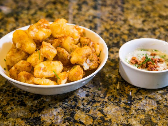 Fried Cheese Curds.