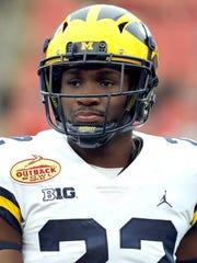 Michigan cornerback David Long.