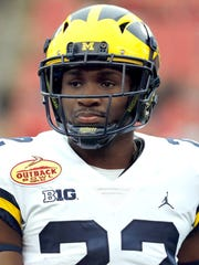 Michigan cornerback David Long.