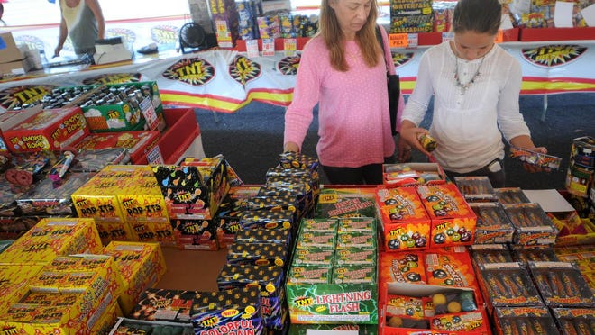 There will be fewer events for July 4 this year due to the COVID-19 pandemic, and while fireworks from home are allowed, officials urge residents to purchase in-state to ensure the ones being set off are legal in North Carolina.