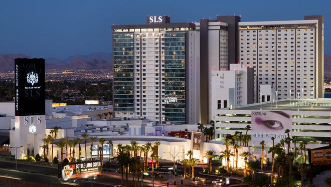 Earn double points at Tribute Portfolio hotels, like the SLS Las Vegas.