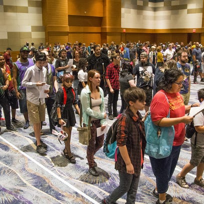 The Phoenix Comicon got underway Thursday, May 25,