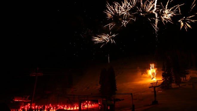 Ski Apache Torchlight Parade