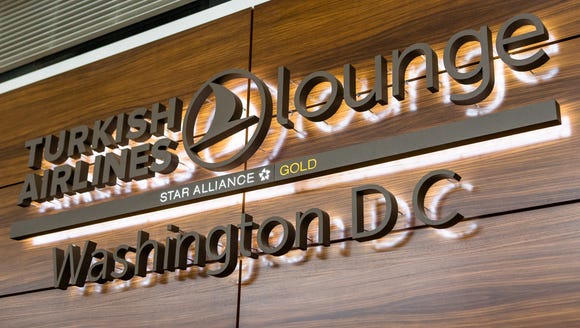 Turkish Airlines' new lounge at Washington Dulles is