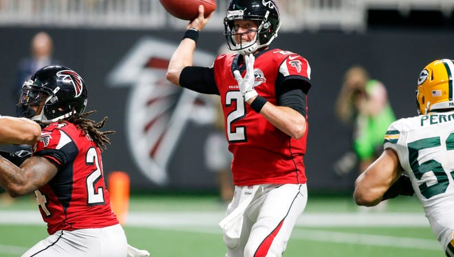 Matt Ryan and the Falcons offense ranks fifth in scoring and fourth in total yards.