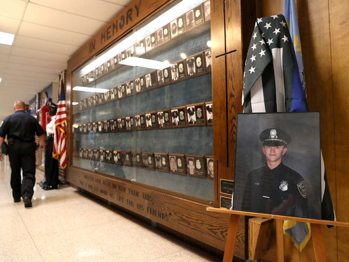 A portrait of Milwaukee Police Officer Charles Irvine