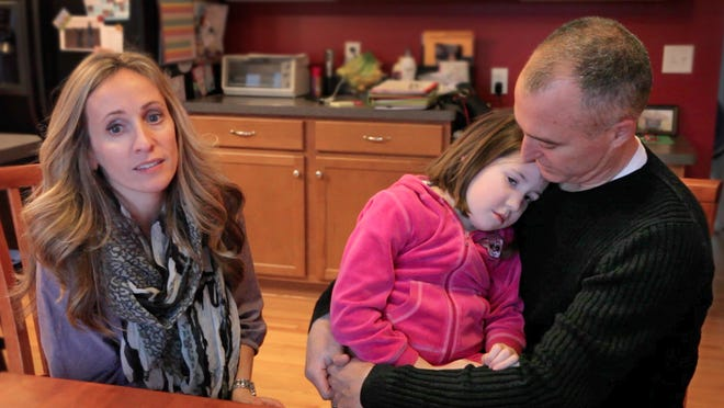 Tim and Christine Emerson support the idea of medical marijuana but think that what Gov. Cuomo will do will fall short of the needs of their daughter, Julia.