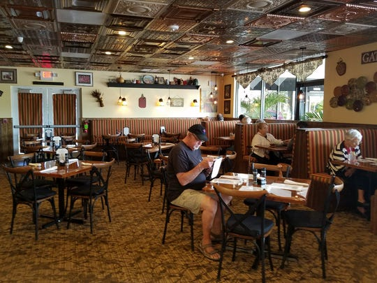 The Harvest Table's new location is more spacious, with seating for about 100 diners.