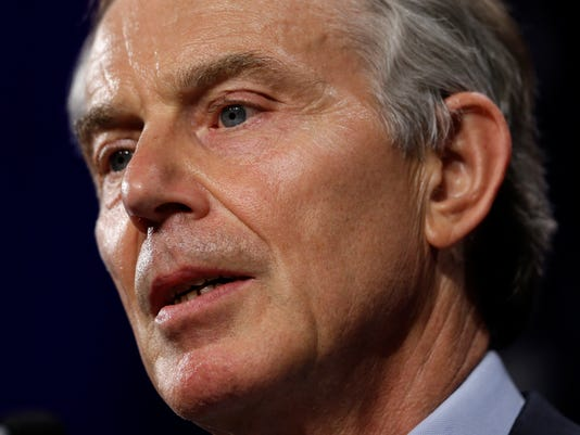 Ex-British PM Tony Blair apologizes for Iraq War 'mistakes'