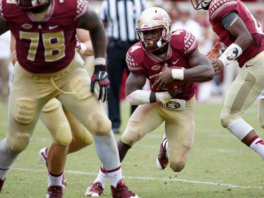 Florida State running back Dalvin Cook (4)