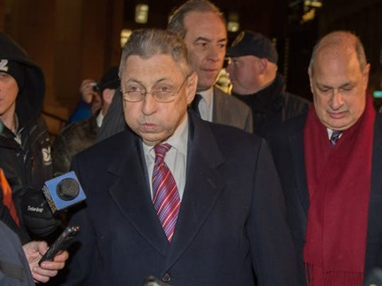 Former New York Assembly Speaker Sheldon Silver exits