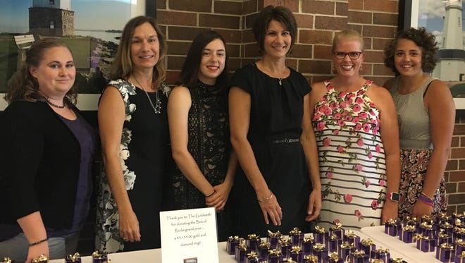 Pictured is the staff of Big Brothers Big Sisters of Fond du Lac County, from left: Jennifer Smith, Lisa Warntjes, Lexi Brost, Joscelyn Deanovich, Tammy Young and Mollie Tennessen.