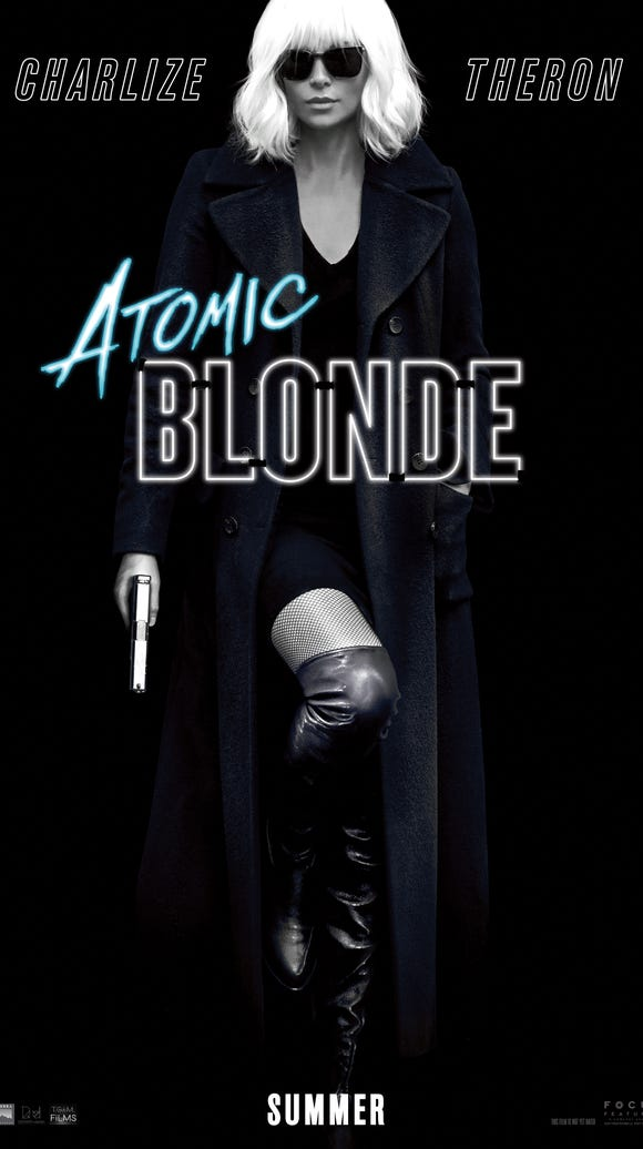 Charlize Theron in 'Atomic Blonde.'