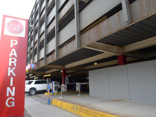 Burlington Town Center Parking Garage