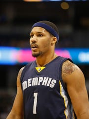 Jarnell Stokes, who began his NBA career with the Grizzlies in 2014, will be back in Memphis after signing a two-way contract with the team Tuesday.