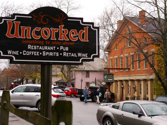 Across the street from Uncorked in Roscoe Village sits