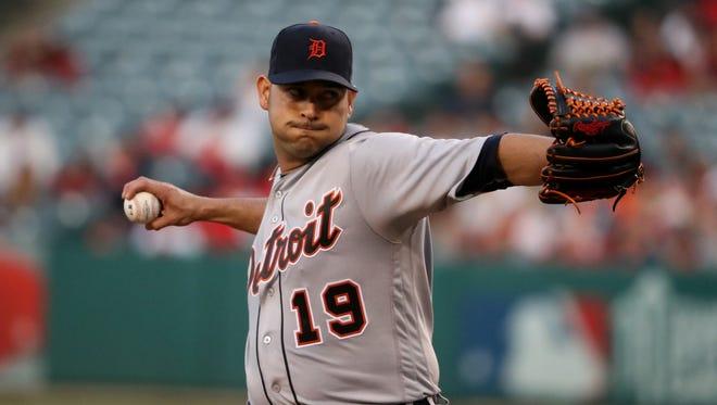 Tigers pitcher Anibal Sanchez.