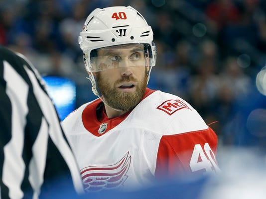 NHL: Detroit Red Wings at Tampa Bay Lightning
