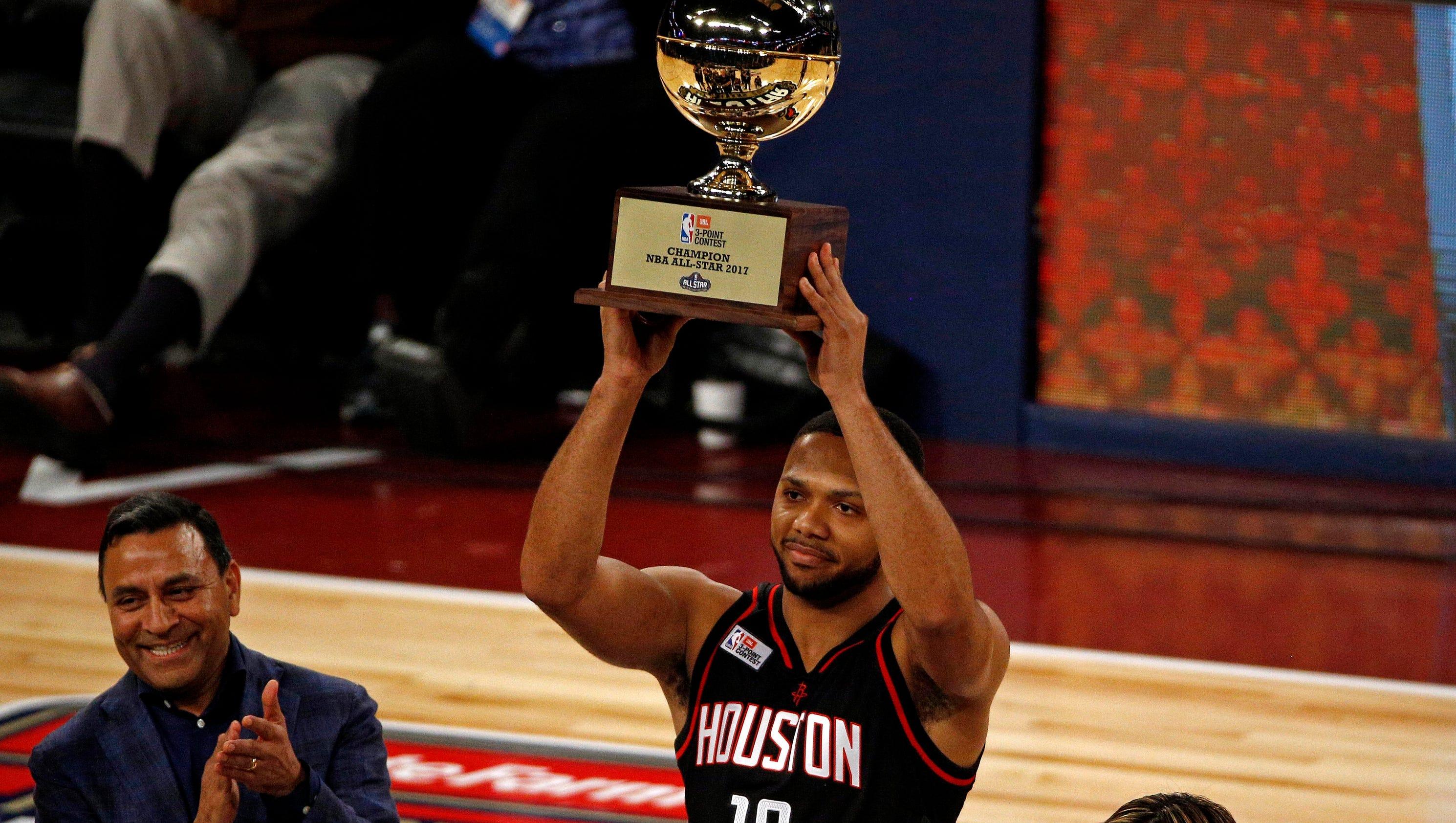 Eric Gordon takes NBA Three-Point Contest after tiebreaker