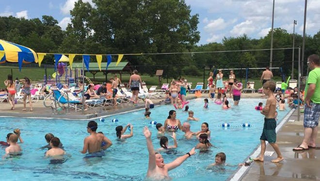 Fairview Recreation Complex's outdoor pool opens for the season on Memorial Day.