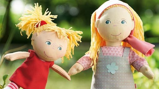 A wide variety of HABA dolls (and other toys) will be available at the 3rd Annual Fall Toy Fest in Skaneateles.