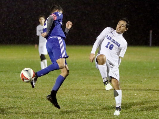 Oak Creek Boys Soccer vs Racine Park