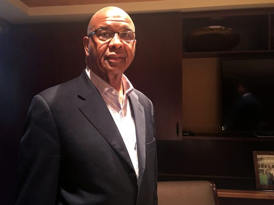 """""""We have to vote our issues and not the personality. We have to vote for the person who is going to go to office and represent our interests."""", says the Rev. James C. Perkins of Greater Christ Baptist Church in Detroit."""